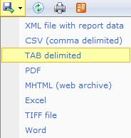 Ssrs report data tab missing